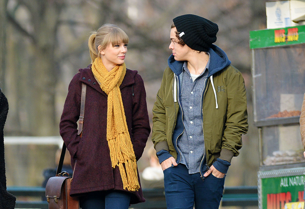 Taylor Swift and Harry Styles: Love in the Park?