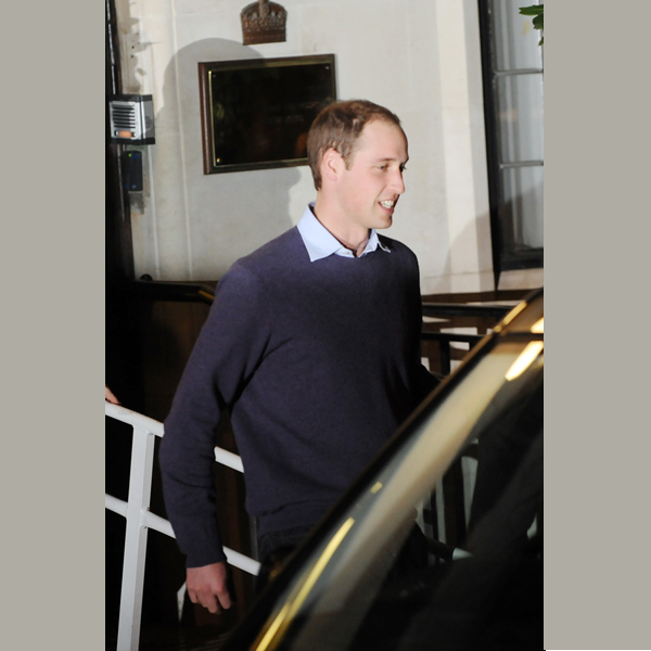 Wills Spotted Leaving Hospital, Baby Names Swirling