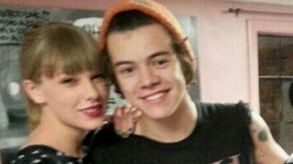 Taylor and Harry's New Year's Kiss Caught on Camera