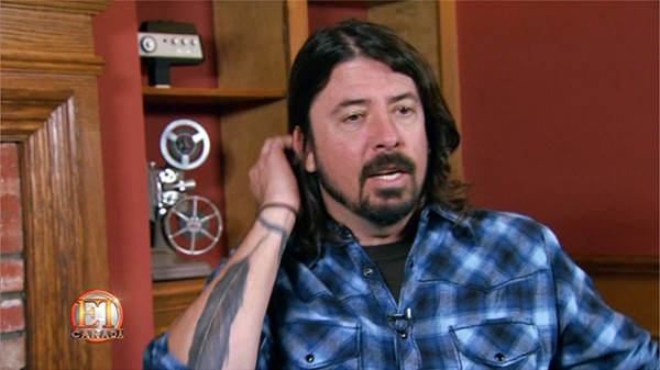 Dave Grohl Steps Behind The Camera For Doc