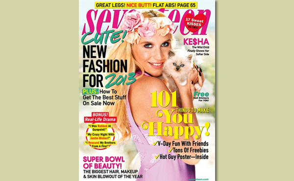 Ke$ha Talks Animal Activism in Seventeen