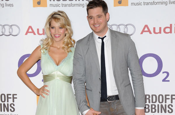 And Baby Makes Three For Michael Buble