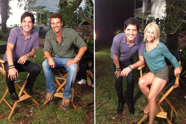 'Safe Haven' Set Visit With Josh Duhamel And Julianne Hough