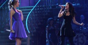 Taylor Swift and Selena Gomez perform together onstage during the 'Speak Now World Tour' at Madison Square Garden in 2011 (Photo: Getty)