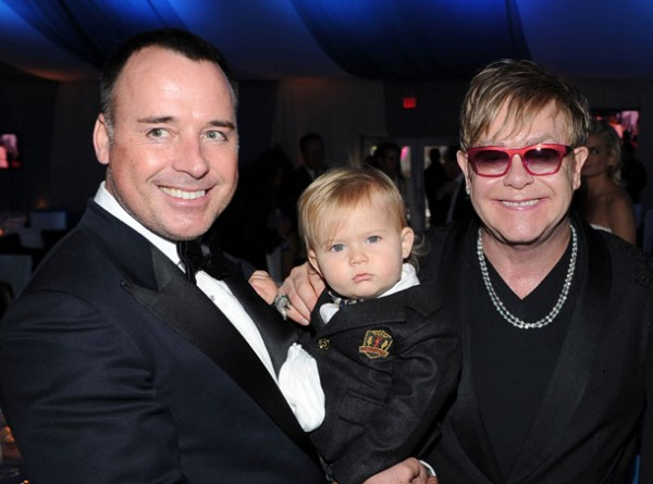 Elton and David Welcome Second Child