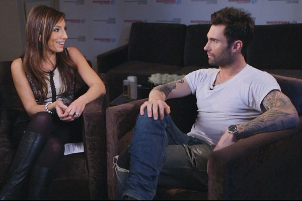 Natasha Talks Scents With Adam Levine