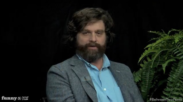 Oscar Nominees Plant Themselves &#8216;Between Two Ferns&#8217;