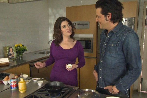 Cooking with Food Goddess Nigella Lawson