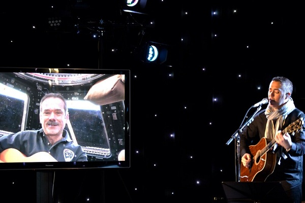 Astronaut Duets With Barenaked Ladies From Space