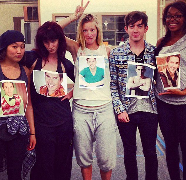 Report: Heather Morris 'Glee'-fully Expecting
