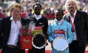Prince Harry Joins Thousands at the London Marathon