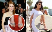 Stars Squeeze Feet Into Stylish Shoes