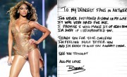 Beyonce Pens Apology Letter to Belgium Fans