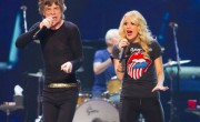 Carrie Underwood Performs with The Stones; Mick Makes Ford Joke