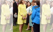 Duchess Kate On Blooming Form At Garden Party