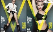 Miley Cyrus Bares Bod For V Magazine