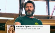 Nick Offerman Reads Amanda Bynes' Tweets