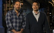 Affleck & Hader's 'SNL' Promo: The Beard Is Fake!