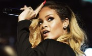 Rihanna Whacks Fan With Microphone