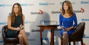 "Ana Ortiz and Susan Lucci talk about their new show ""Devious Maids"" at the 2013 Shaw Media upfronts."