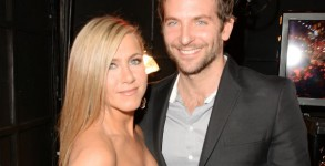 Jennifer Aniston and Bradley Cooper