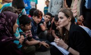 Angelina Jolie Visits Jordan On First Post-Surgery Humanitarian Trip