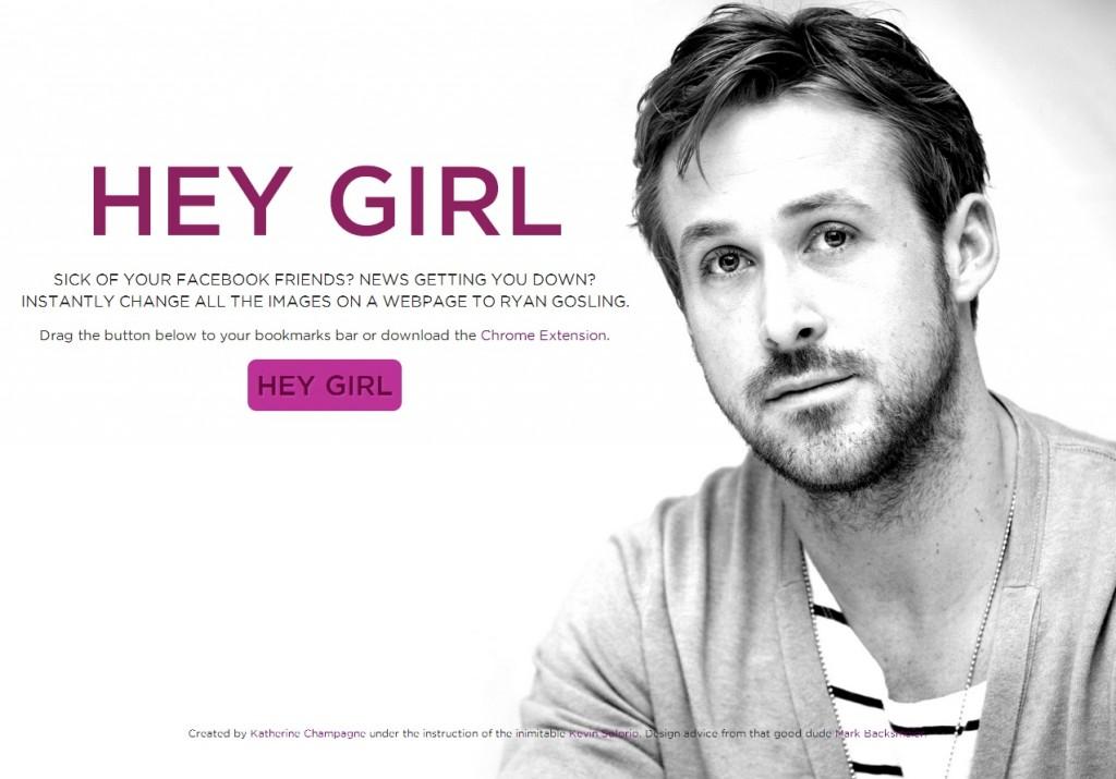 Ryan Gosling Hey Girl Want more Ryan Gosling in your