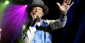 Pharrell Performs Live In Brisbane