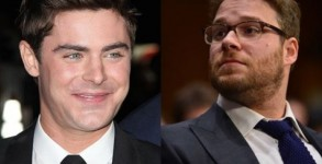 Zac Efron and Seth Rogen