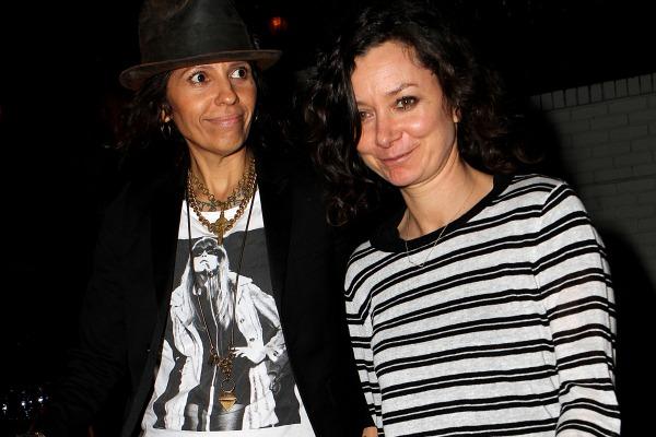 UPDATE: Sara Gilbert & Linda Perry's Rock N' Roll Wedding ...