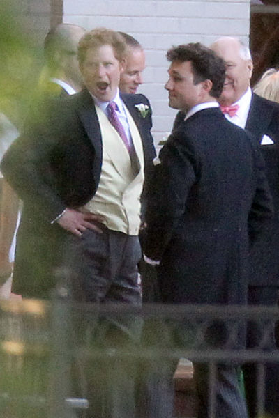 Prince Harry Attends The Wedding Of Friends In Memphis Tennessee