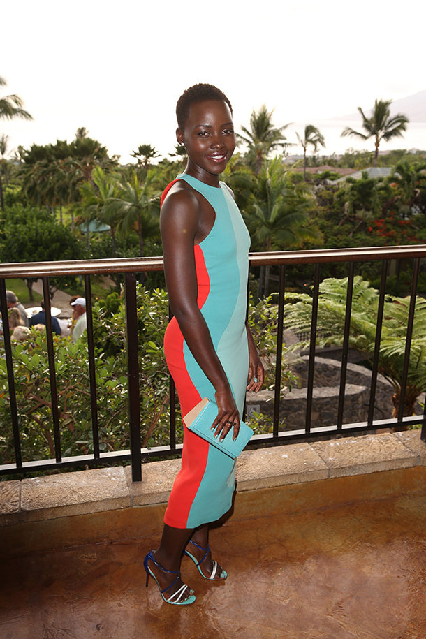 Lupita Nyong O Shows Off Fierce Bikini Body In Maui