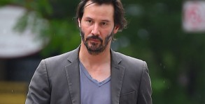 MANHATTAN, NY - MAY 31, 2014: Keanu Reeves seen out in Soho on MAY 31, 2014 in New York City, New York