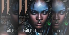 Rihanna covers W Magazine