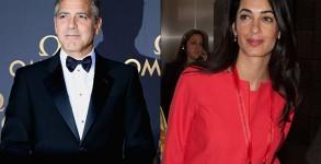 George Clooney, Alamuddin, wedding