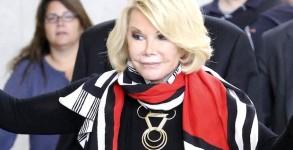 Joan Rivers is a happy traveler in Los Angeles
