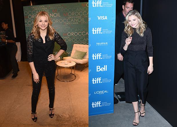 Chloe Grace Moretz Has A Dior Wardrobe Malfunction