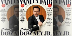 Robert Downey Jr. covers Vanity Fair