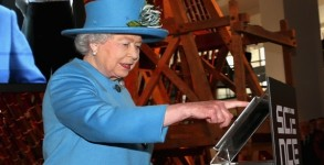 The Queen Visits The Science Museum