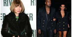 Anna Wintour, Kim and Kanye West
