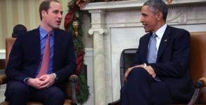 The Duke Of Cambridge Meets With U.S. President Barack Obama