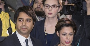 Jian Ghomeshi Leaving Court After Being Released On Bail