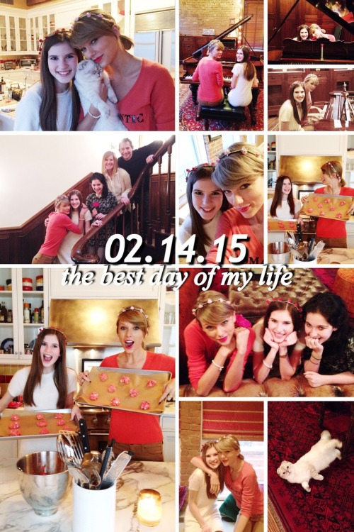 Taylor Swift Spends Valentine S Day Hanging Out With 15 Year Old Fan