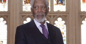 Morgan Freeman receives Freedom of the City of London