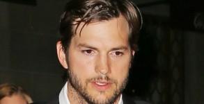 Ashton Kutcher seen leaving Gotham Hall on MAY 07, 2015 in New York City, New York
