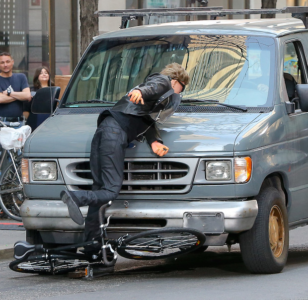 Staged Car Accident Spy
