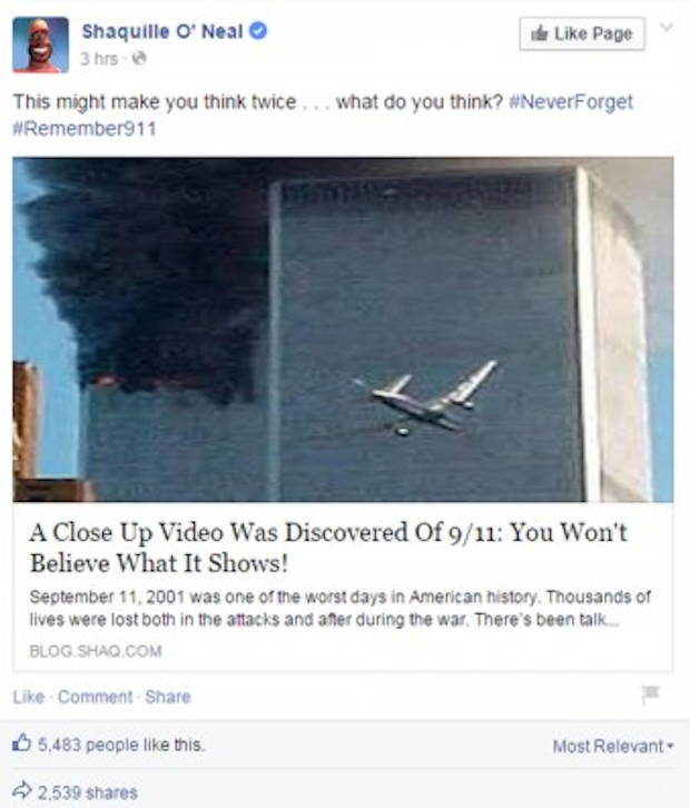 9/11 conspiracy theories?