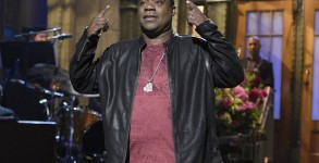 """SATURDAY NIGHT LIVE -- """"Tracy Morgan"""" Episode 1686 -- Pictured: Tracy Morgan during the monologue on October 17, 2015 -- (Photo by: )"""