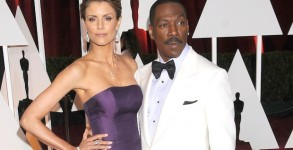 Feb. 22, 2015 - Los Angeles, CA, United States - Feb 22, 2015 - Los Angeles, CA, United States - Actor EDDIE MURPHY, PAGE BUTCHER at the 87th Academy Awards held at the Hollywood & Highland Complex(Credit Any Usage: )