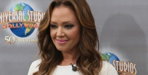 Jul 07, 2015; Los Angeles, California, United States; Leah Remini seen at Universal Studios where she was interviewed by Charissa Thompson for television show Extra...Featuring: Leah Remini.Where: Los Angeles, California, United States.When: 07 Jul 2015 (Credit Image: ¬